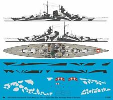 Peddinghaus 1/1250 Tirpitz Battleship Markings w/Hull&Deck Camo Norway 1944 3554
