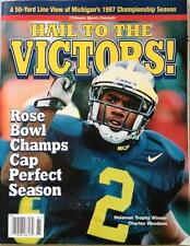 Michigan Wolverines Hail To The Victors Magazine, 1997 Season - FULL MAGAZINE