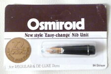 New 22K 'Easy Change' Calligraphy Nib Unit- B4 Oblique