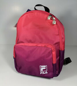 FILA Heritage Pink Purple Small Backpack *NEW* SOLD OUT