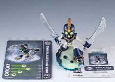 Skylanders Swap Force Twin Blade Chop Chop Figure Loose w/Card & Sticker Sheet