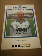 Carte Postale KAA Gent Laurent Dauwe