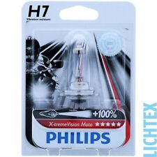 H7 Philips X-tremeVision Moto - 100% More Light-Maximum Performance-NEW