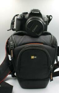 macchina fotografica Fotocamera Canon EOS 1300d reflex digitale + 18-55 IS borsa