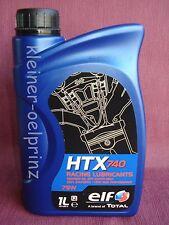 1 ltr. ELF HTX 740 Racing Lubricants 100 % Synthetic / Rennöl / Getriebeöl 75W