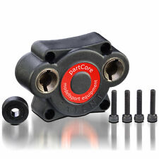 Rotorstart Backplate Elektrostarter Motorumbauplatte 14 mm 6-Kant Force HPI CEN