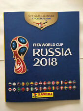 ALBUM PANINI WORLD CUP COUPE MONDE 2018 RUSSIA RUSSIE FRENCH FREE + 6 STICKERS