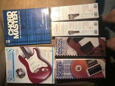 Guitar Chord and Scales Books and Decks