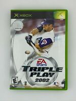 Triple Play 2002 - Original Xbox Game - Complete & Tested