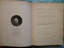 MEMOIRES PONTS ET CHAUSSEE 1808 : PHARE D'EDYSTONE / NAVIGATION INTERIEURE, pl.