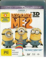 DESPICABLE ME 2 - 3D BLU-RAY -  FREE LOCAL POST