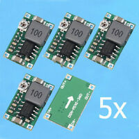 5pcs Mini-360 DC-DC Buck Converter Step Down Module 4.75V-23V to 1V-17V LTZX