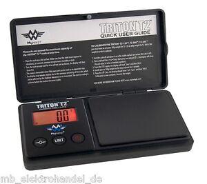 MyWeigh Triton T2-550 Feinwaage 550g / 0,1g Digitalwaage Münzwaage Goldwaage 0,1