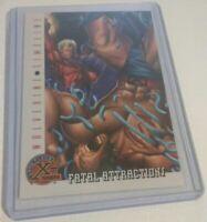 1995 Magneto versus Wolverine Timeline Marvel Comic Trading Card 86 9.8 NM Fleer