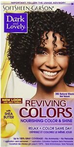 Soft Sheen Carson - Dark & Lovely Reviving Colors # 395 (Natural Black)