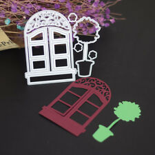 EG_ Metal Window Cutting Dies Stencil Scrapbooking Paper Embossing Craft DIY Die