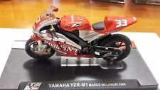 Yamaha yzr M1 Marco Melandri 2004 scala 1/24