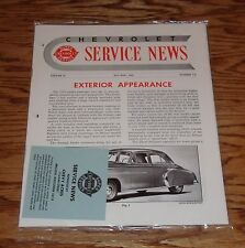 1949 Chevrolet Service News Magazine Complete Year 49 Chevy
