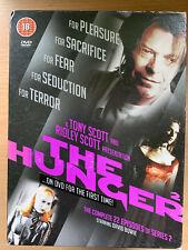 The Hunger Temporada 2DVD Box Set Ridley Tony Scott Vampiro Horror Serie de TV