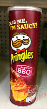 Pringles Saucy BBQ Flavored Potato Chips Snack 107 g. Grab Me I Am Saucy !