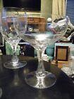 Set 2 ORREFORS CORONATION  Champagne Stems Rare Juice