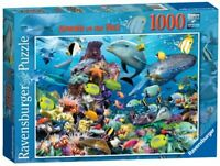 Ravensburger Jigsaw Puzzle JEWELS OF THE SEA - Sharks Fish 1000 Piece