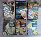 RECIPE BOOKLETS - LOT OF 16 - 1953-2000 - MIXED  LOT