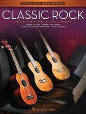 Classic Rock For Ukulele Ensemble Book *NEW* Music 15 Hits Ukuleles