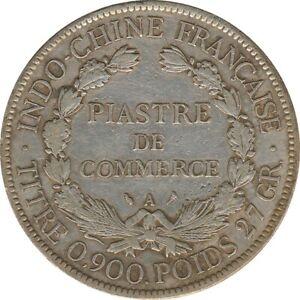 Französisch Indochina 1 Piaster 1903 A Silber*