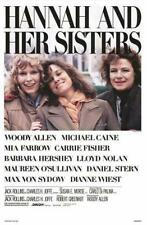 HANNAH AND HER SISTERS 27x41 Original Movie Poster One Sheet Rolled Woody Allen
