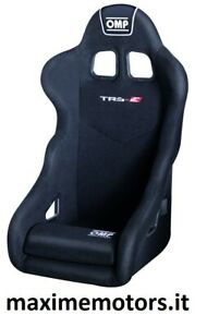 Sedile OMP TRS-E nero nuovo omologato FIA 2021 2026 rally pista salita drifting