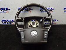 VW TOUAREG 3.0 PETROL AUTO STEERING WHEEL  & AIRBAG 7L6880201CP 3D0419091K 04
