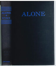 Alone by Richard Byrd SIGNED 1938 1st Ed. Rare Vintage Book! $