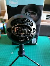 Blue Snowball USB Microphone - Black. Perfect, unmarked condition.