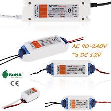 12V 24V AC DC Adapter Charger Power Supply Driver Transformer for LED strip 240v