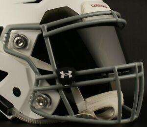 ARIZONA CARDINALS NFL UNDER ARMOUR Football Helmet BLACK Eye Shield / Visor