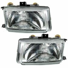 Volkswagen Polo Mk3 2000-2002 Headlights Headlamps 1 Pair O/S And N/S