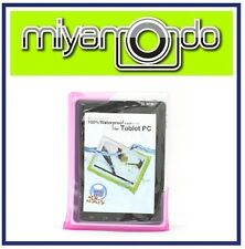 """DiCAPac WP-T20 (Pink) Waterproof Case for over 10"""" Tablet"""