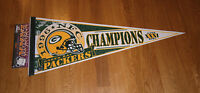 1996 Green Bay Packers NFC Champs pennant Super Bowl XXXI Brett FAVRE Reggie