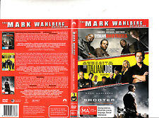 Four Brothers-2005/The Italian Job-2003/Shooter-2007-Mark Wahlberg- Movie-3 DVD
