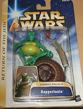 "STAR  WAR  RAPPETUNIE  JABBA'S  PALACE  yr.2004  33/4"" Action figure"