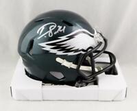 Darius Slay Autographed Philadelphia Eagles Speed Mini Helmet- JSA W Auth *White