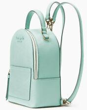 Kate Spade Cameron Convertible Backpack Aquamarine Leather NWT WKRU6432 $279