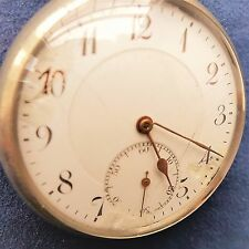 """Revue Thommen ("""" G.T """") Pocket Watch Good Function, more Flaws, ca. 1920"""