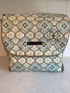 Petunia Pickle Bottom Boxy Backpack Classically Crete Diaper Bag