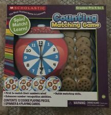 Scholastic Counting Matching Game