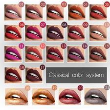 21Couleurs Liquide Gloss Waterproof Longue Tenue Matte Velvet Rouge À Lèvres C/D