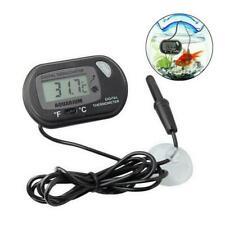 Lcd Digital Fish Tank Reptile Aquarium Water Meter Temperature Thermometer H5P8