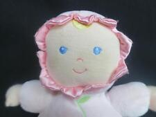 KID PREFERRED ASTHMA ALLERGY FRIENDLY BABY GIRL PINK BLUE EYES PLUSH RATTLE