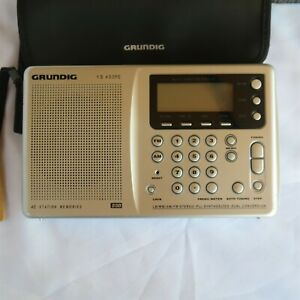 Grundig YB 400PE World Radio W/ Case Very Nice
